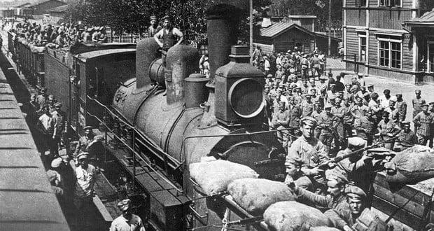 Czechoslovakians revolt