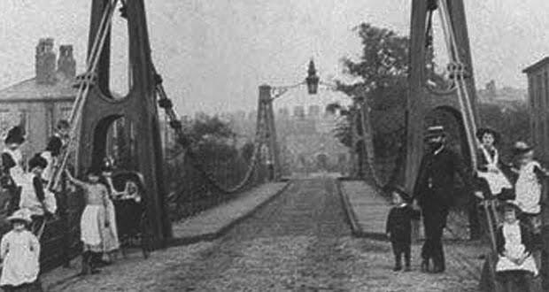 Broughton Suspension Bridge