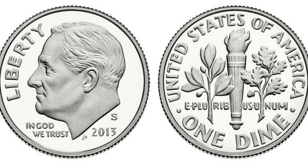 US dime