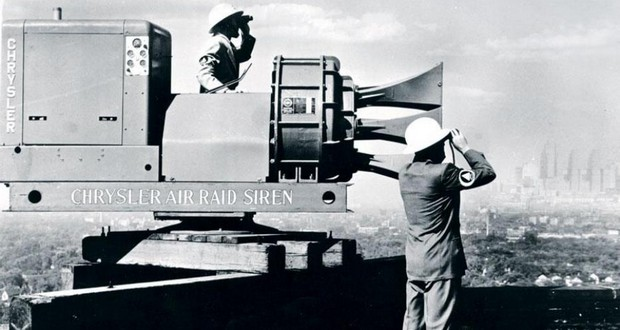 Chrysler air raid siren