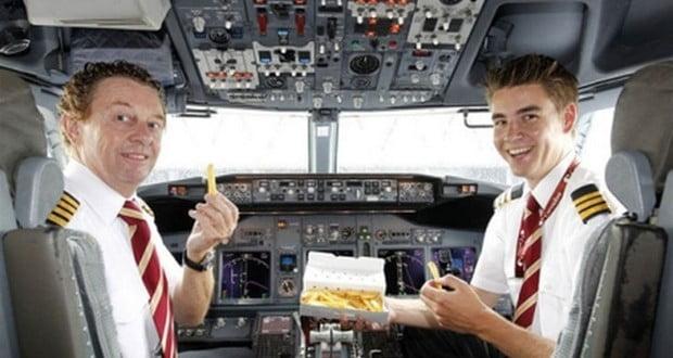 Pilot's diet