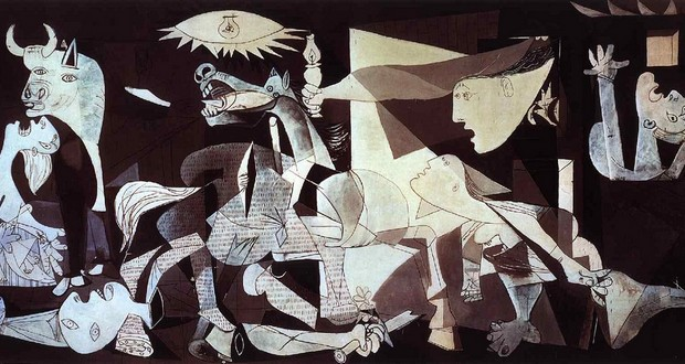 Painting Guernica