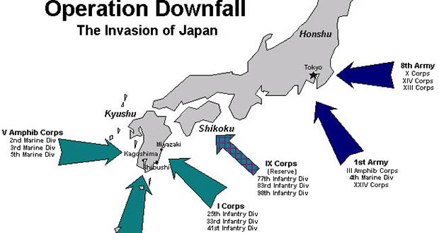 Image result for operation downfall