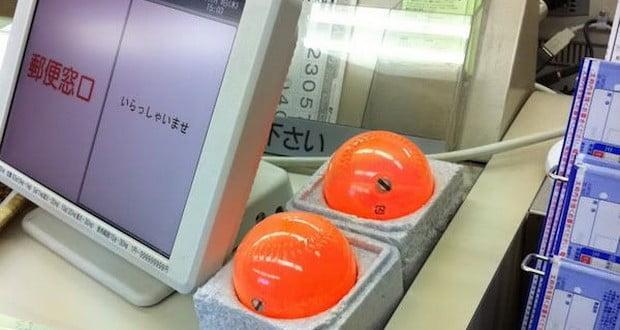 Anti-Crime orange balls