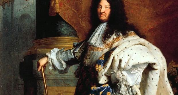 Louis XIV's routine