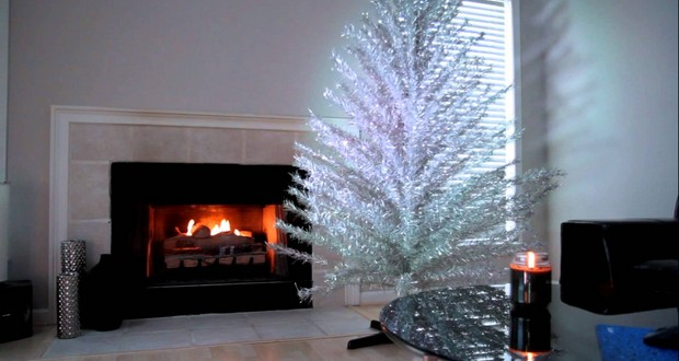 Aluminium Christmas tree