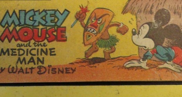 Mickey Mouse and the Medicine Man