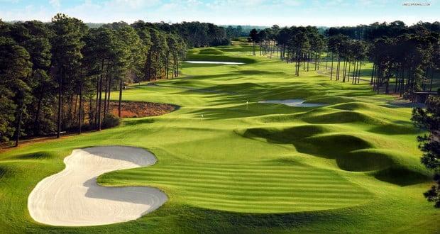 American golf course