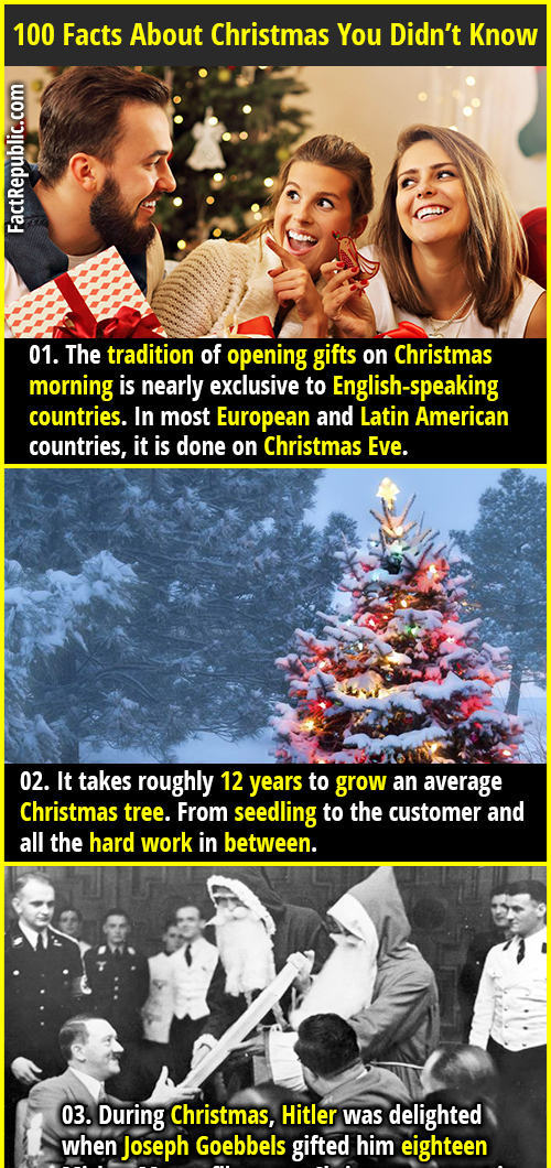 Interesting Facts About Christmas.100 Interesting Facts About Christmas Fact Republic