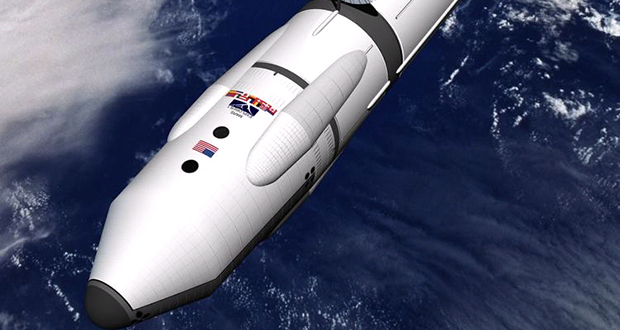 Antimatter spaceship