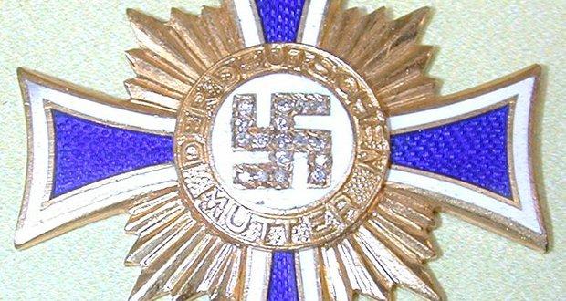 Mother Cross Diamonds Medal