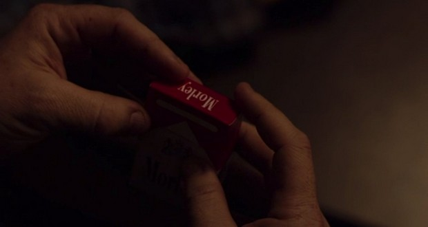 Morley cigarette