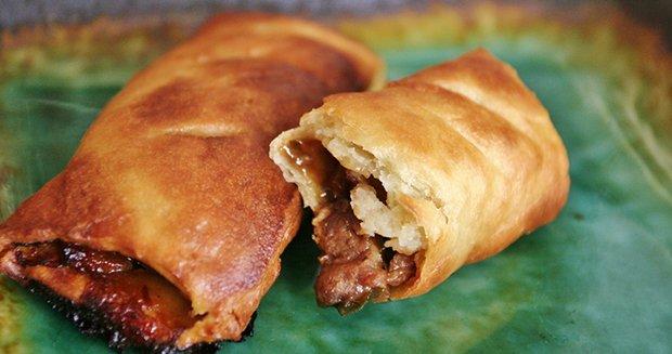 Pork pastries