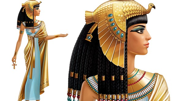 Cleopatra 's wit and charm