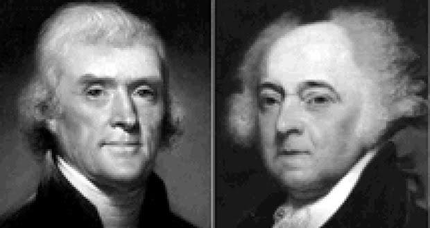John Adams and Thomas Jefferson