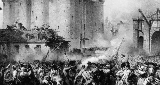 Bastille destruction