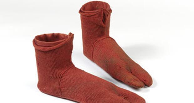 Ancient cloth socks