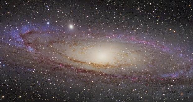 Andromeda galaxy distance