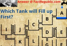Geniuses Only - Look Closely at the Details - Answer @ FactRepublic.com - Which Tank Will Fill Up First