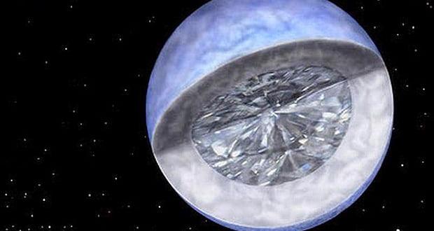 Moon-sized diamond