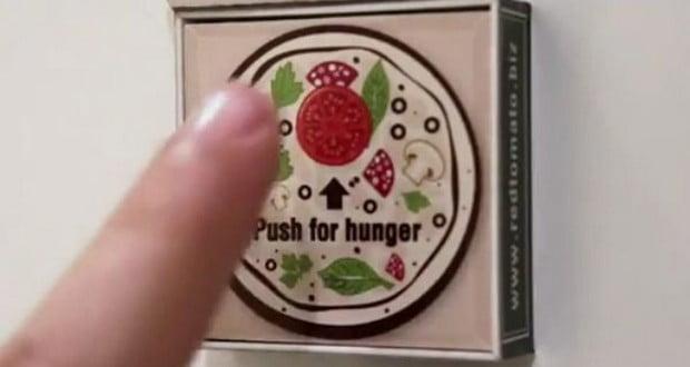 Dubai pizza magnet