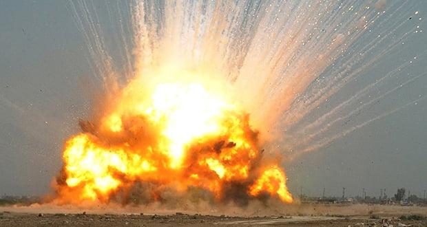 Non-nuclear explosion