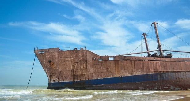 Old shipwrecks