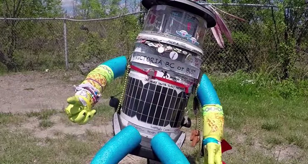 Hitchhiking robot