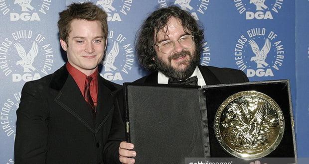 Peter Jackson and Elijah Wood