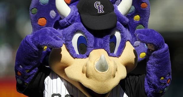 Colorado Rockies mascot