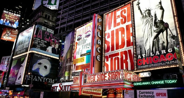 Off Broadway and On Broadway