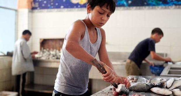Child labor camp