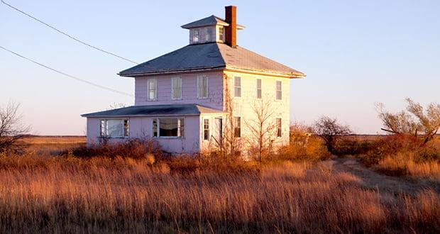 Plum Island Pink House