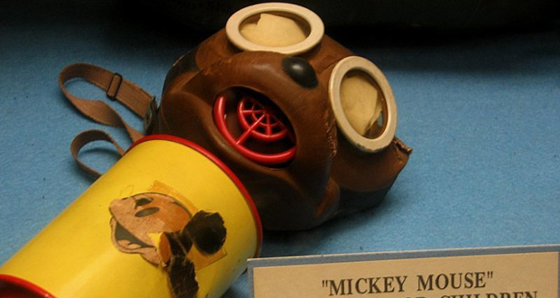 Mickey Mouse gas mask
