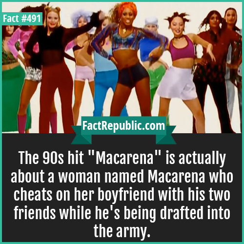 491-Macarena-The 90s hit