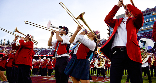 Stanford University's band