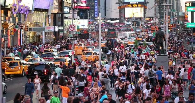 Manhattan population density