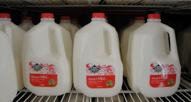 Milk in California