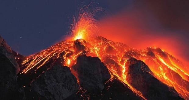 Volcano suicide