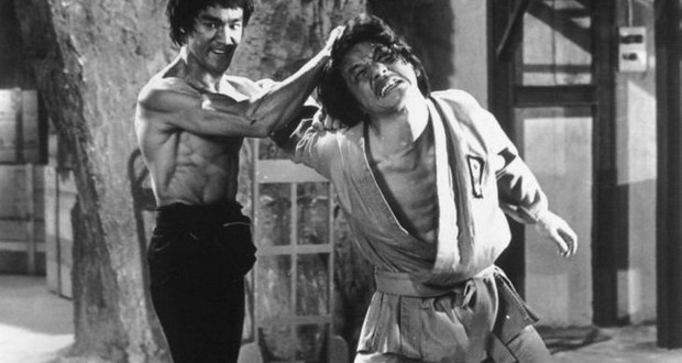 Jackie Chan and Bruce Lee
