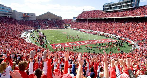 Wisconsin football games