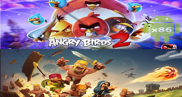 Angry Birds and Clash of Clans