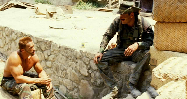 Jesse Ventura and Arnold Schwarzenegger