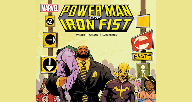 Power Man and Iron Fist comic