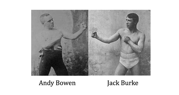 Andy Bowen and Jack Burke