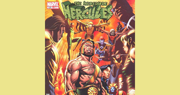 129th issue Incredible Hercules