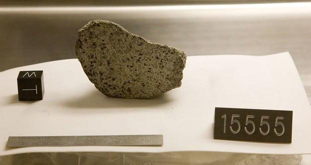 Stolen lunar samples