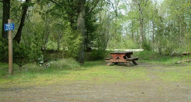 Lewis and Clark's campsites
