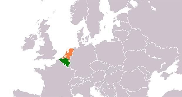 Belgium and Netherlands