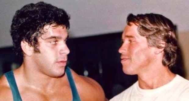 Arnold and Lou Ferrigno